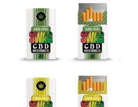 #80 untuk Hemp Cigarettes Packaging oleh Tins11