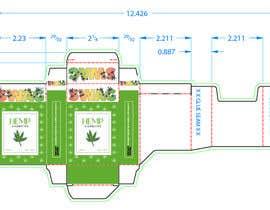 Nro 93 kilpailuun Hemp Cigarettes Packaging käyttäjältä SiddharthBakli