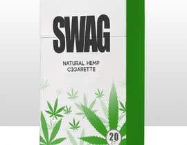 #100 untuk Hemp Cigarettes Packaging oleh johnian123