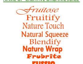 #233 untuk Need a brand name for 100% Organic Juice oleh saiduzzamanbulet
