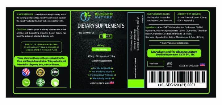 Penyertaan Peraduan #11 untuk Label for Supplement