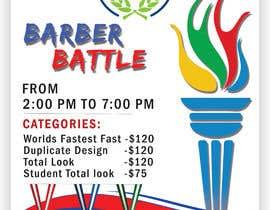 Nro 57 kilpailuun event flyer barber battle käyttäjältä SwiftTech3