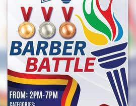 Nro 46 kilpailuun event flyer barber battle käyttäjältä irfananis07
