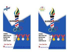 Nro 9 kilpailuun event flyer barber battle käyttäjältä sholehudin03