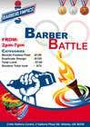 Graphic Design Kilpailutyö #59 kilpailuun event flyer barber battle