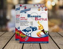 Nro 60 kilpailuun event flyer barber battle käyttäjältä AbdullahDesign24