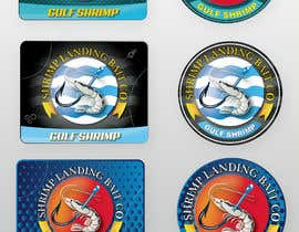 #53 for Create a high quality design for a packaging label to be used on fishing bait. Use a fishing hook, shrimp, the company name etc to create a quality label that can be used across a variety of various fishing baits that we sell. af saurov2012urov