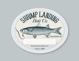 #96 for Create a high quality design for a packaging label to be used on fishing bait. Use a fishing hook, shrimp, the company name etc to create a quality label that can be used across a variety of various fishing baits that we sell. af lugas