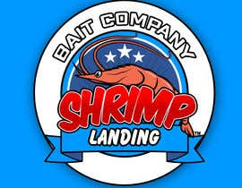 #122 for Create a high quality design for a packaging label to be used on fishing bait. Use a fishing hook, shrimp, the company name etc to create a quality label that can be used across a variety of various fishing baits that we sell. af fortieight