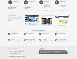 #6 untuk Design a landing page to sell one product: oleophobic touchscreen coating oleh ImArManik