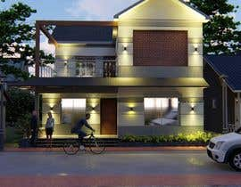 #49 untuk Draw 2D Elevation for a residential building oleh upworkstudent