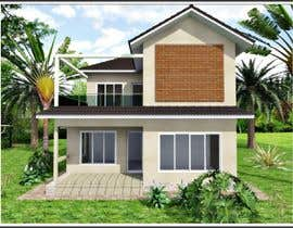 #36 для Draw 2D Elevation for a residential building от dennisDW