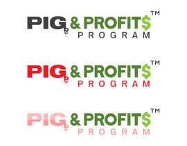 """#42 untuk Design a logo for our """"PIG & PROFITS PROGRAM"""" oleh NowrinDesigner19"""