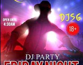 maidang34 tarafından Flyer for DJ Party for Social Media Quickly and Poster Dimensions 457 × 610mm. için no 3