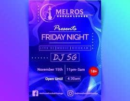 safiislam136 tarafından Flyer for DJ Party for Social Media Quickly and Poster Dimensions 457 × 610mm. için no 14