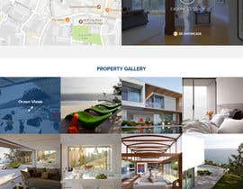 designbossfree tarafından Refresh Design UI for a Real Estate Agent Personal Website için no 46
