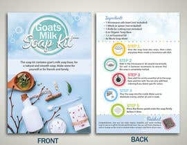 #14 for Soap Kit Flyer af dessdamiani
