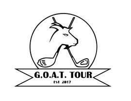 Nro 1 kilpailuun GOAT TOUR logo käyttäjältä ashfaqadil54