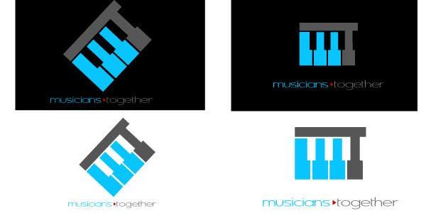 Penyertaan Peraduan #14 untuk Logo Design for Musicians Together website