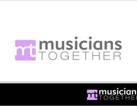 #67 dla Logo Design for Musicians Together website przez Grupof5