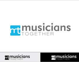 #66 dla Logo Design for Musicians Together website przez Grupof5