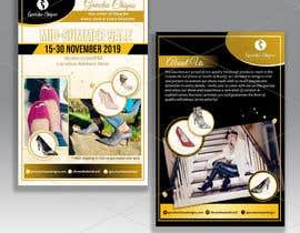 #33 pentru Create a post card for shoe sale event de către d3stin