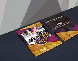 #35 pentru Create a post card for shoe sale event de către creativeexpose