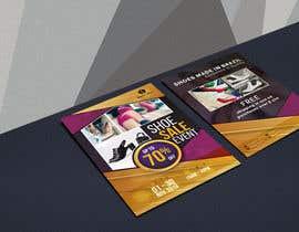 #36 pentru Create a post card for shoe sale event de către creativeexpose