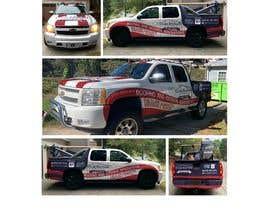 #45 untuk Vehicle Truck Wrap Design Needed oleh zannatuliftear