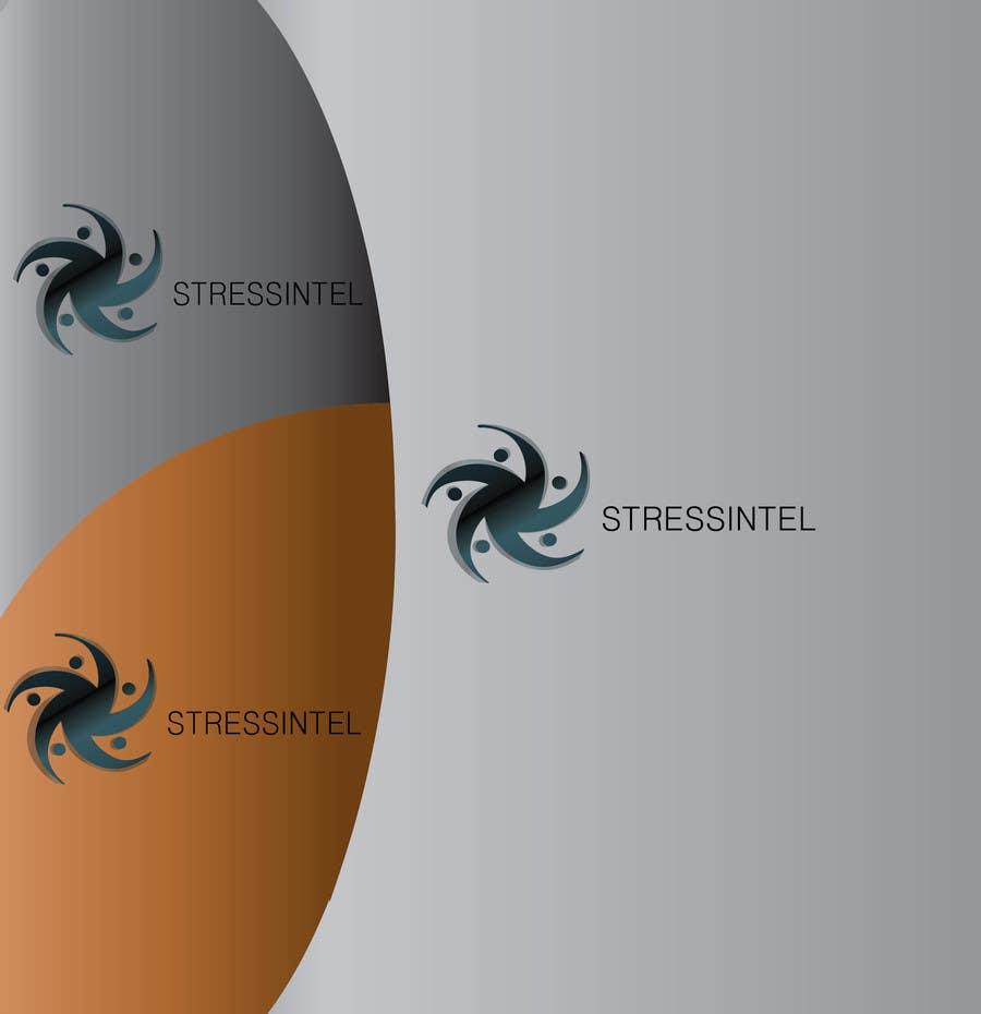 Penyertaan Peraduan #214 untuk Logo Design for StressIntel