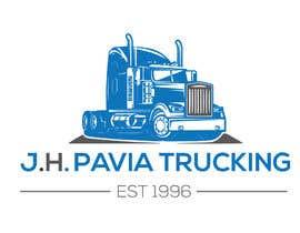 #33 dla J.H. PAVIA TRUCKING  EST 1996      (Logo for a Truckng Company) przez tushar059