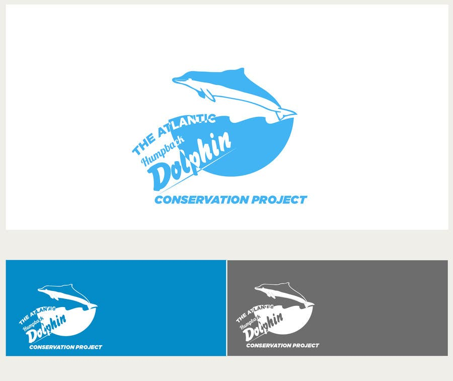 Logo Design Contest Entry #43 for Logo Design for The Atlantic Humpback Dolphin Conservation Project