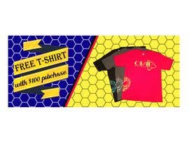 #116 for Free T-Shirt banner by srmon