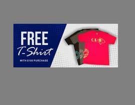 #65 cho Free T-Shirt banner bởi ConceptGRAPHIC