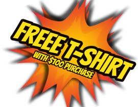 #2 для Free T-Shirt banner от GoncaloRo