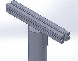#10 untuk Design a small plastic type pole for solar wall lamps oleh DC47
