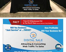 nº 109 pour Pull Up Banner Design For Digital Marketing Agency par AnankZep