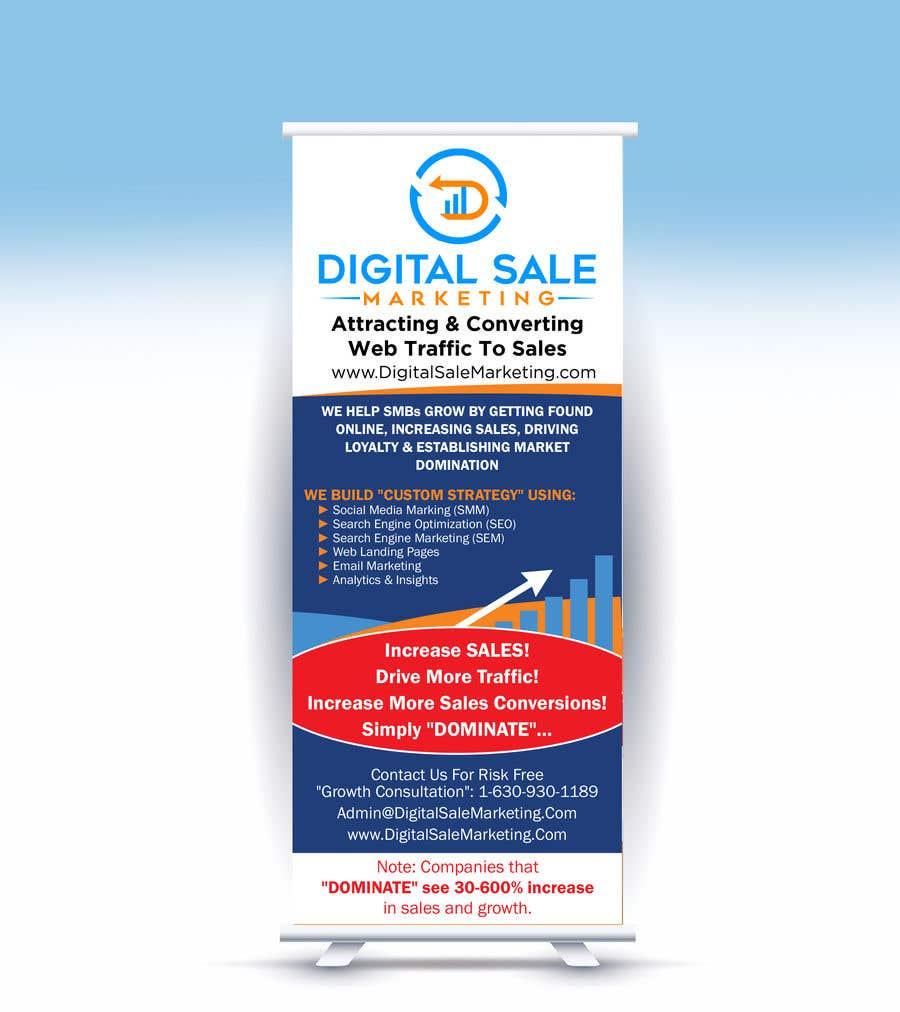 Proposition n°32 du concours Pull Up Banner Design For Digital Marketing Agency