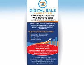 nº 32 pour Pull Up Banner Design For Digital Marketing Agency par deepakshan