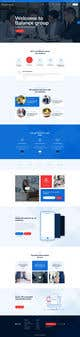 "Konkurrenceindlæg #                                                16                                              billede for                                                 Design me a front page of a Corporate Website ""Balance"". Winner get a 400$ whole project!"