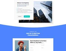 """#20 cho Design me a front page of a Corporate Website """"Balance"""". Winner get a 400$ whole project! bởi meitrisyani19"""