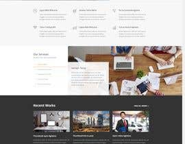 "Arghya1199 tarafından Design me a front page of a Corporate Website ""Balance"". Winner get a 400$ whole project! için no 19"