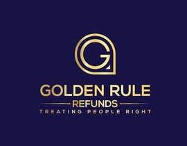 araddhohayati tarafından I need a logo designer for Golden Rule Refunds için no 869