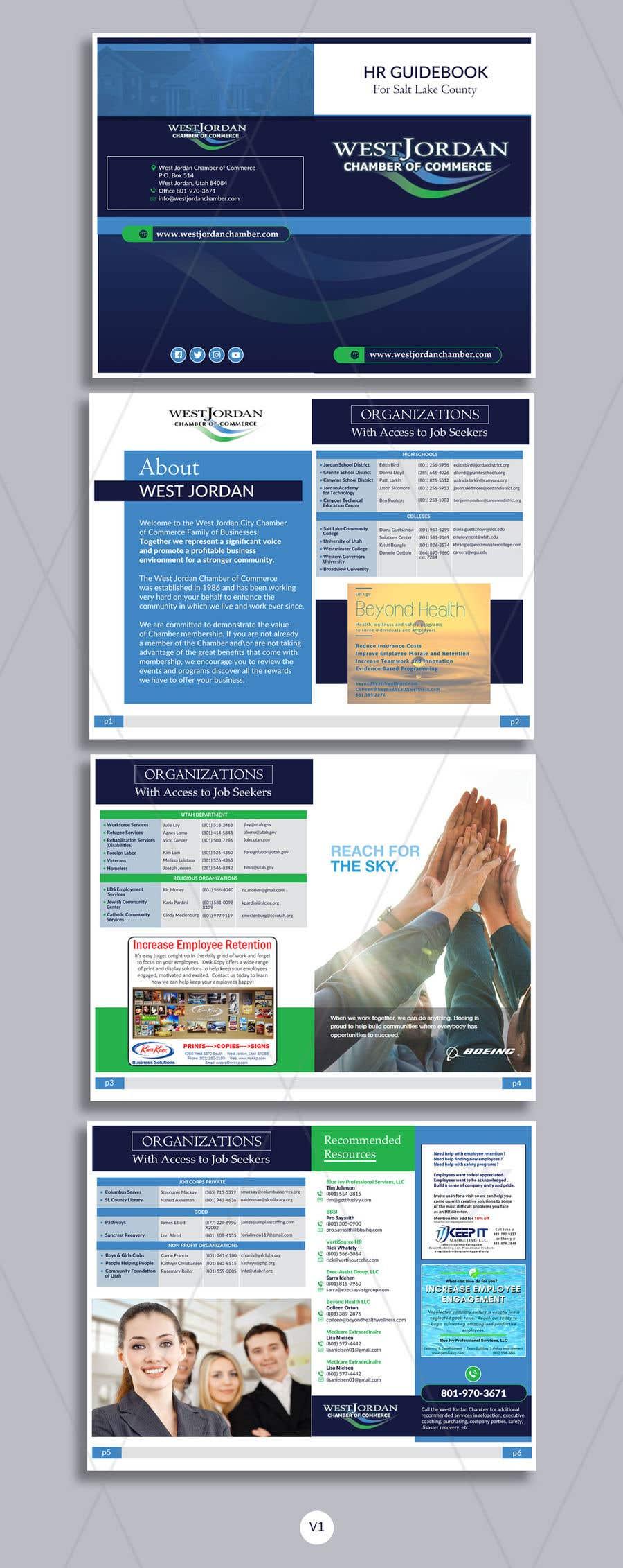 Konkurrenceindlæg #16 for Design a Booklet - HR Resource Guide