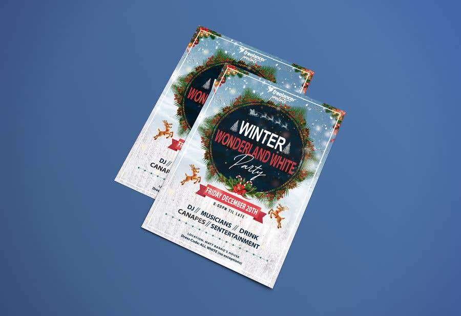 Konkurrenceindlæg #221 for Create a flyer / invitation for our company Christmas Party - Contest
