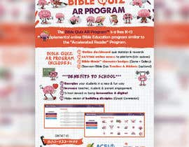 "#40 for Enhance our flyer (for our ""Bible Quiz AR Program"") by mirandalengo"