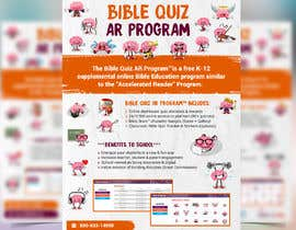"#36 for Enhance our flyer (for our ""Bible Quiz AR Program"") by moslehu13"