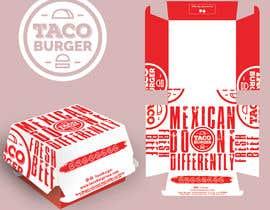 Nro 27 kilpailuun Taco Burger Wrapper Design käyttäjältä leondeneon