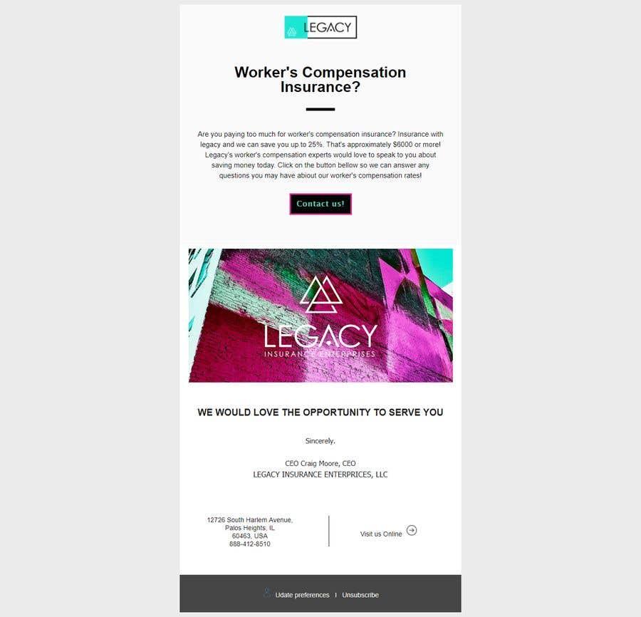 Kilpailutyö #10 kilpailussa Create a reusable E-Mail Template