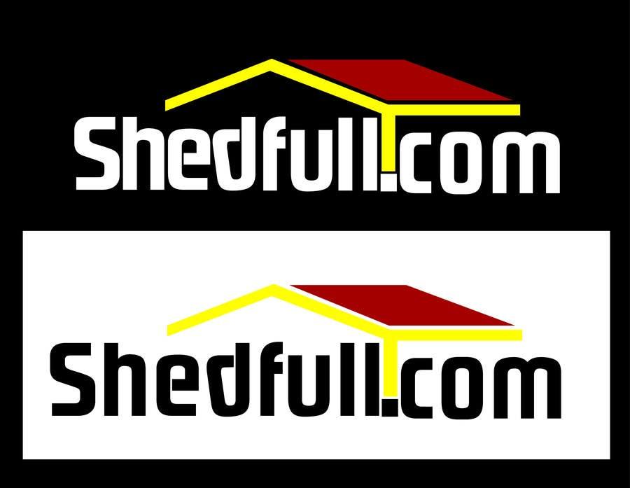 Penyertaan Peraduan #30 untuk Logo Design for Shedfull.com